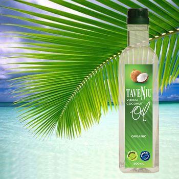 TaveNiu Fiji Premium Virgin Coconut Oil Organic Certified
