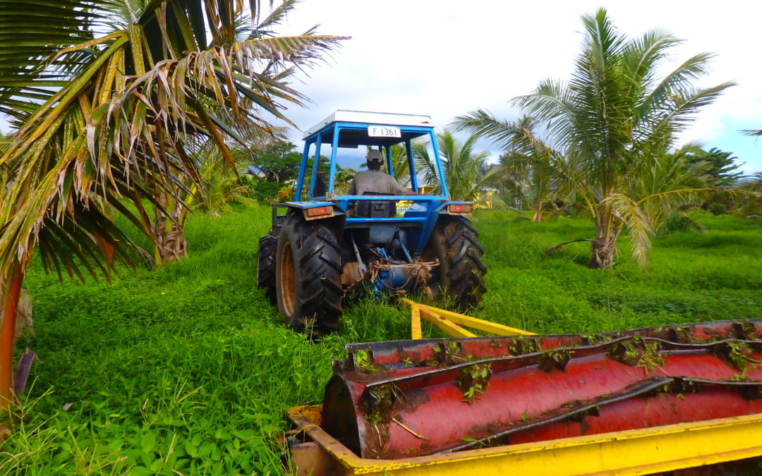 How to Weed 500 Acres, Organically